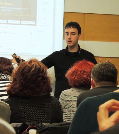 Tadej Bevc - Facebook seminar